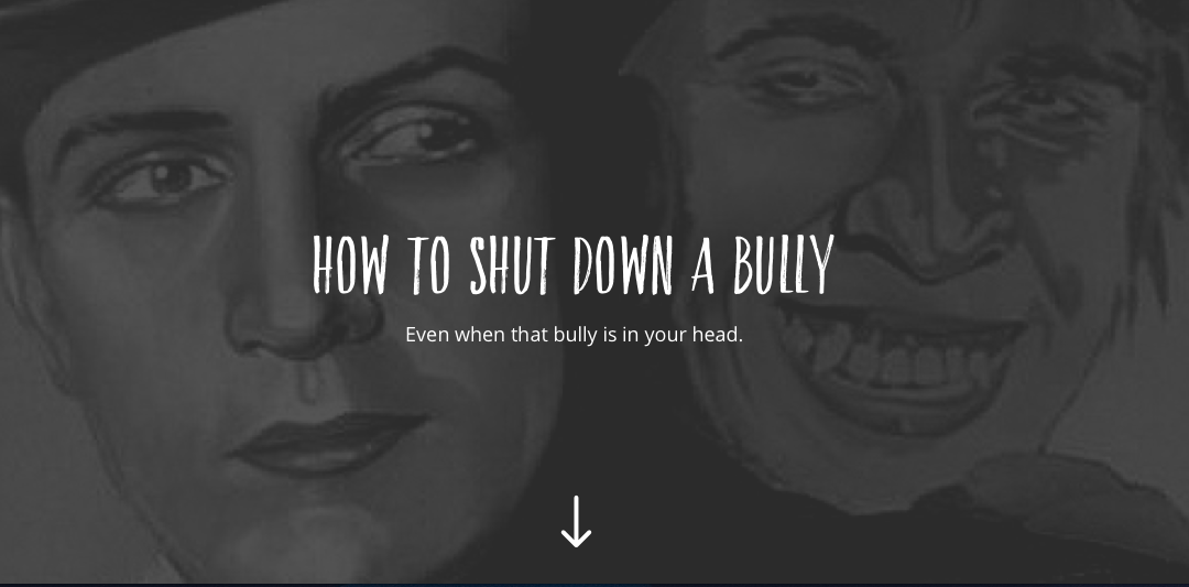 How to shut down a bully